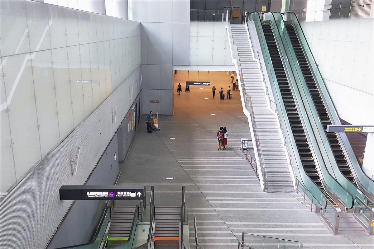 桃園MRT 台北駅