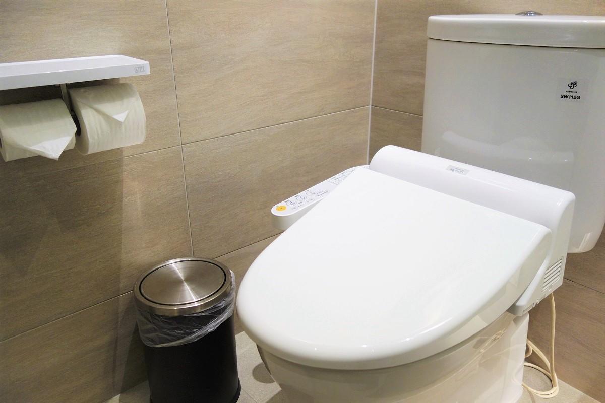 シティインプラス復興北路館 トイレ