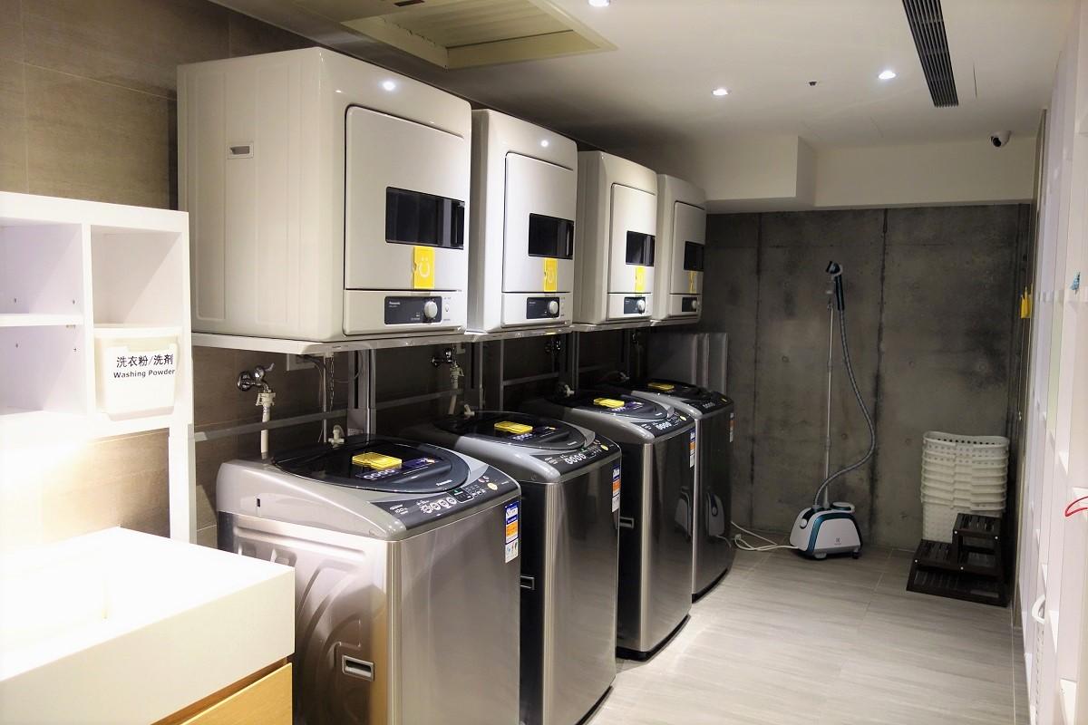 シティインプラス復興北路館 洗濯機
