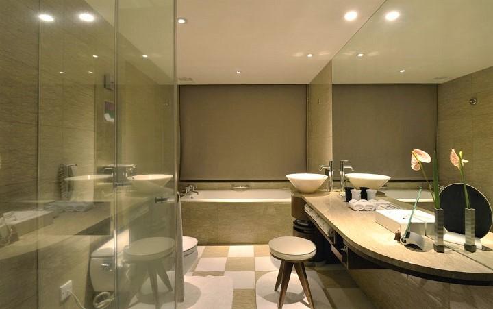 レ スイーツ 台北 チンチェン バスルーム