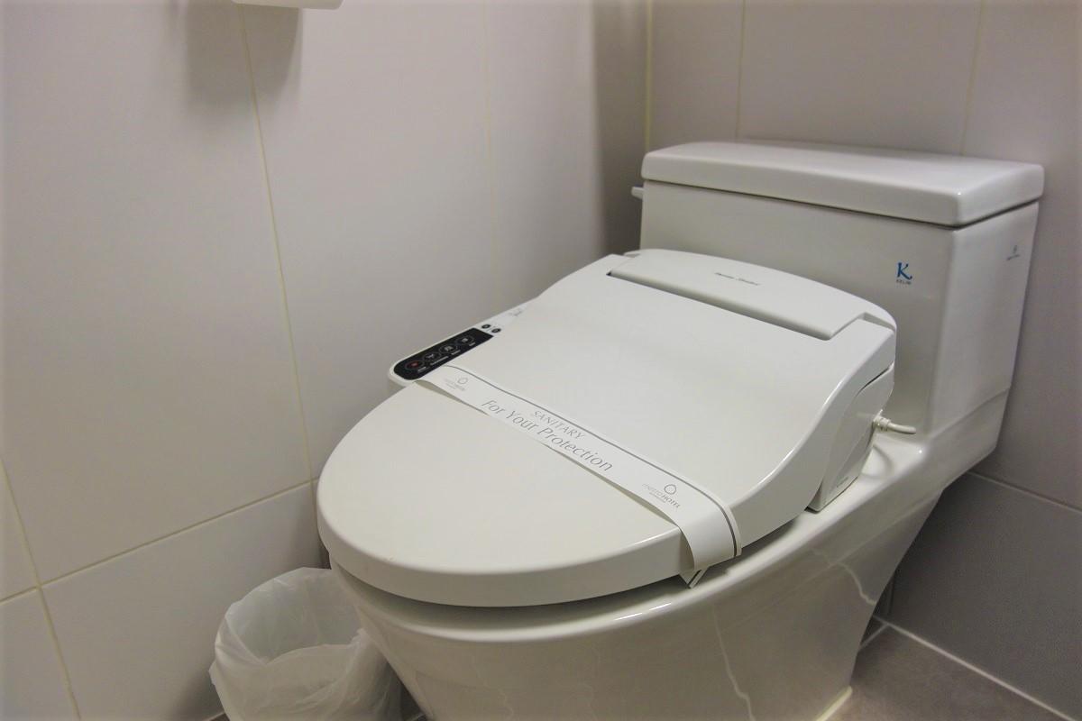 メトロホテルソウル トイレ