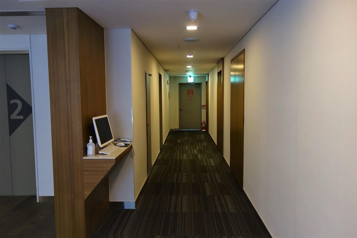 メトロホテルソウル 客室通路